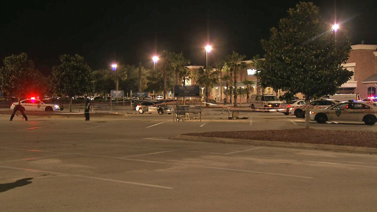 Image result for Man dies after shooting outside Regency Walmart