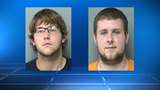 2 men arrested in auto burglary