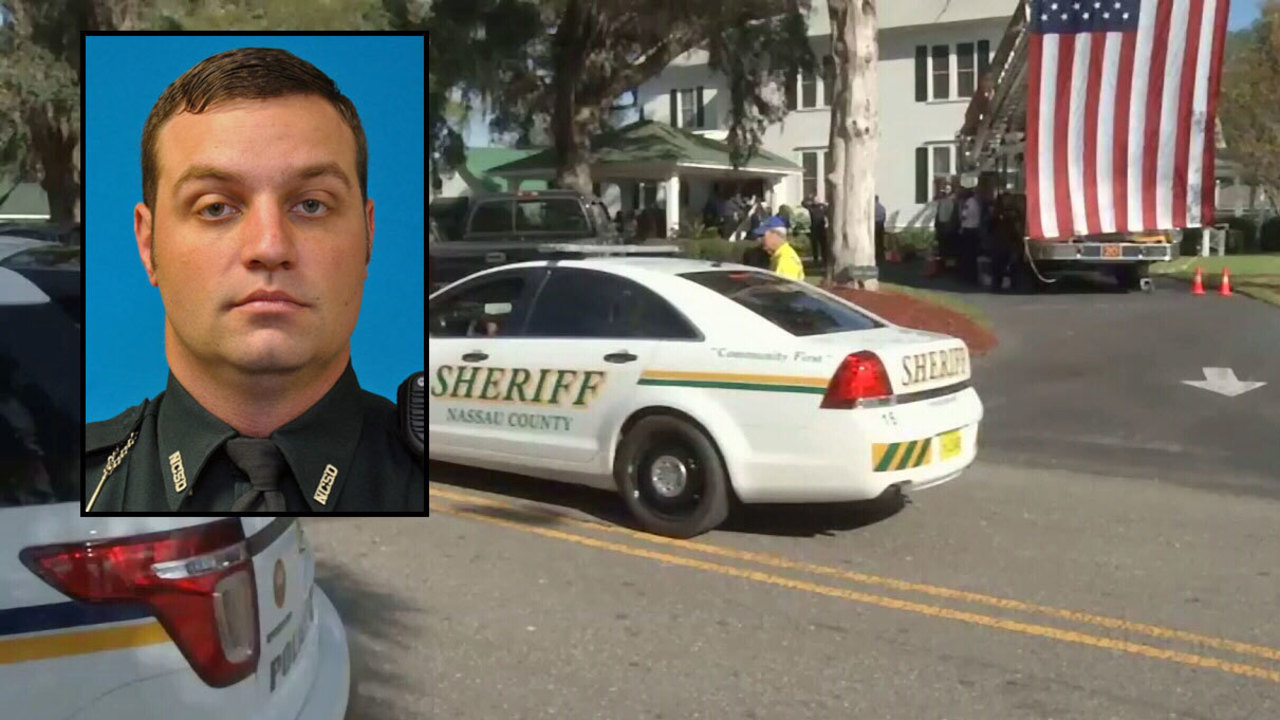 Viewing held for deputy killed chasing undocumented worker