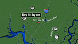 Glynn County boy hit by car airlifted to Jacksonville