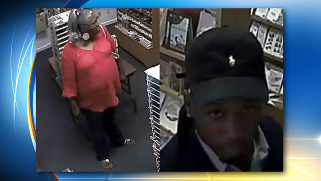 Duo sought in thefts Clay County 2