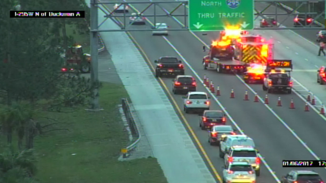 Florida Highway Patrol Traffic >> 3 injured in I-295 crash near Roosevelt Boulevard