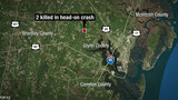 2 killed in head-on crash in Glynn County