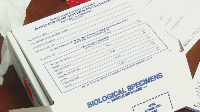 State clears backlog of thousands of rape kits