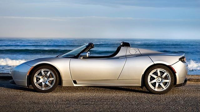 2009 Tesla Roadster sports car