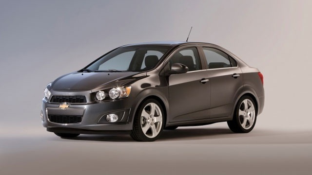 2012 Chevrolet Sonic sedan car