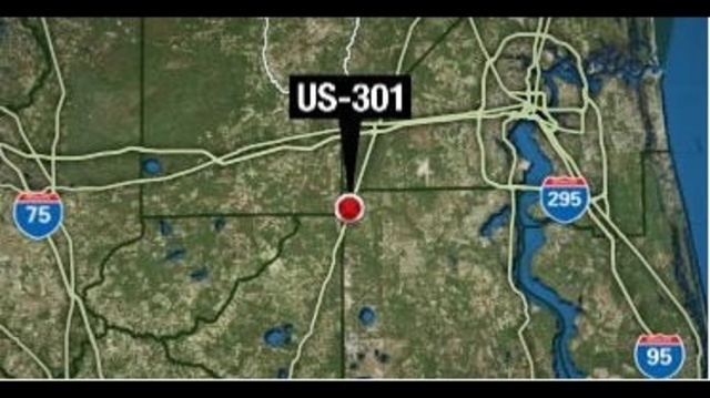 Dies In Tractortrailer Crash On US - Us 301 map