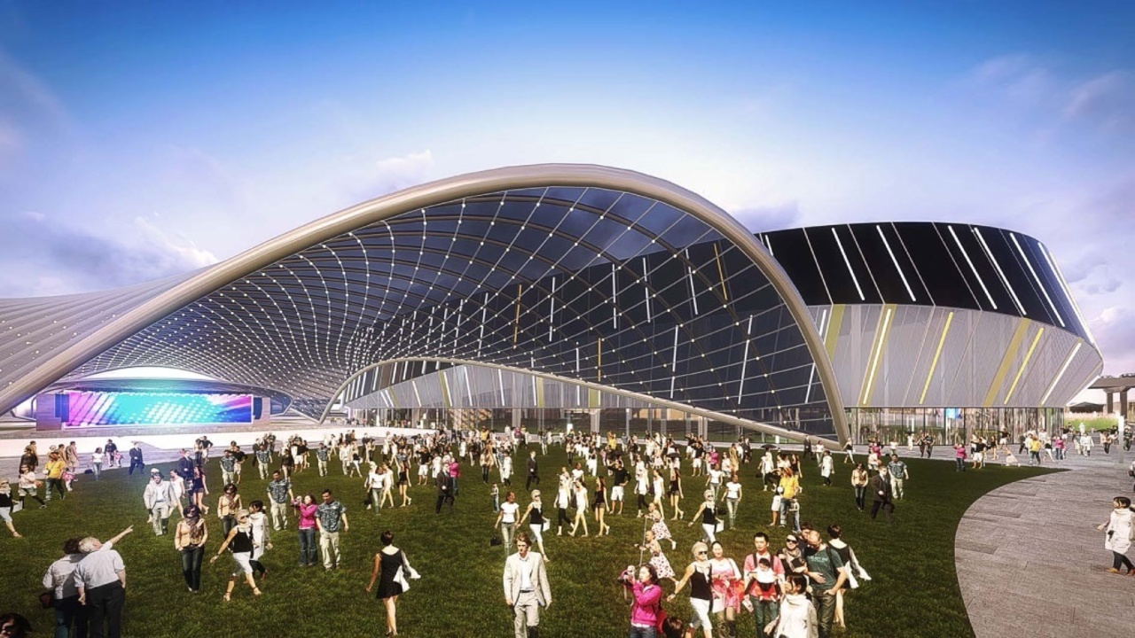 Jaguars City Propose 90m Amphitheater Indoor Practice