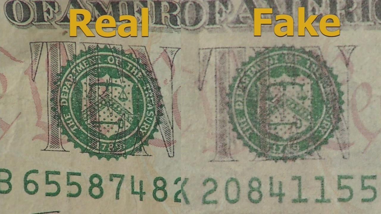 how to make counterfeit money