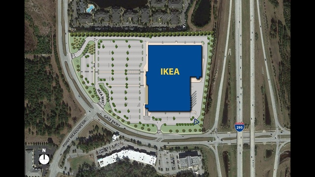 Ikea to open jacksonville store on southside for Ikea meubles orlando floride