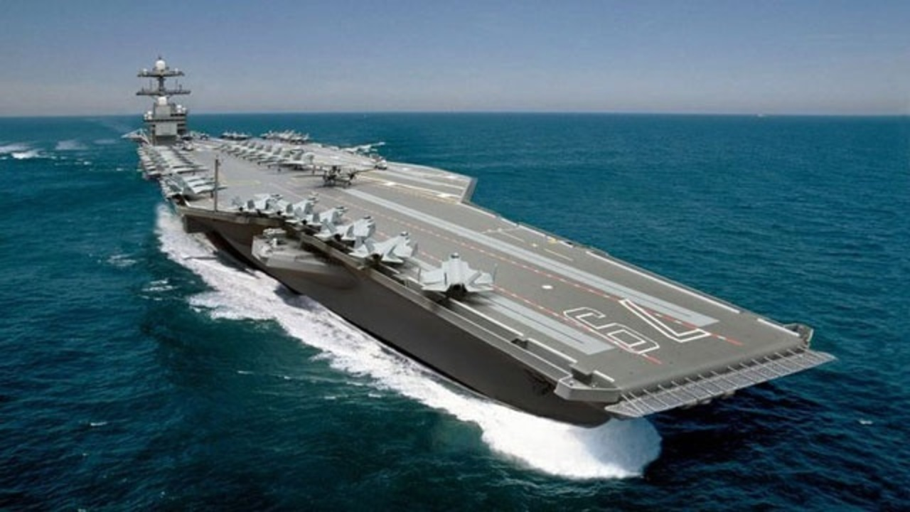 Navy To Lay Keel For New Uss John F Kennedy