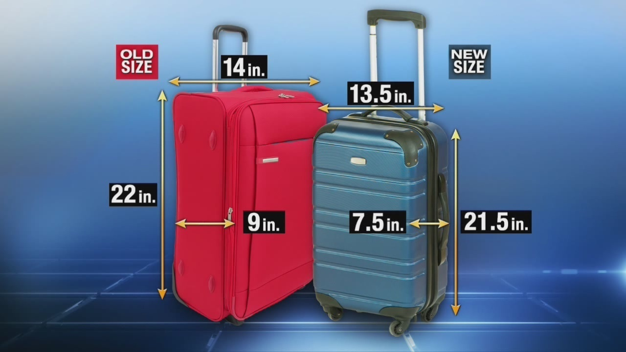 New Guidelines Proposed For Size Of Carry On Luggage