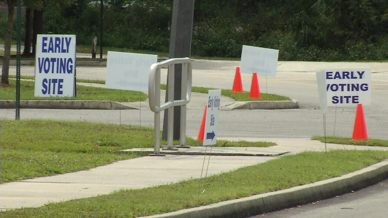 Early voting times, locations in NE Florida counties