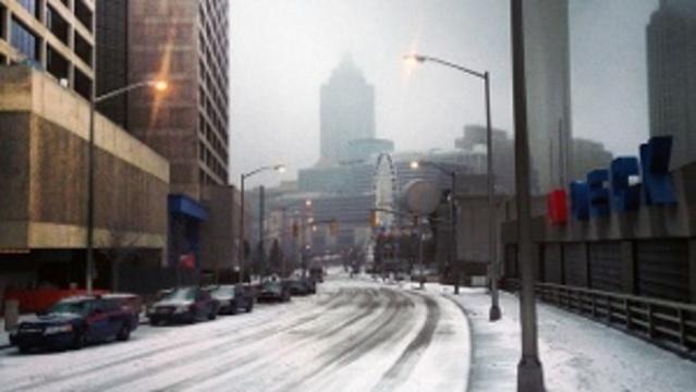 Atlanta ice storm