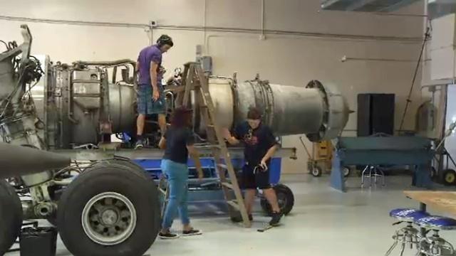 Aviation students