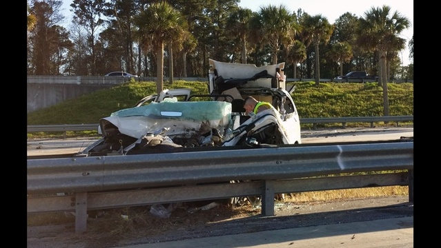 Crash on I-295