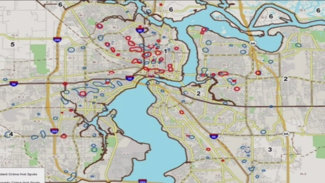 JSO map shows city\'s crime hotspots