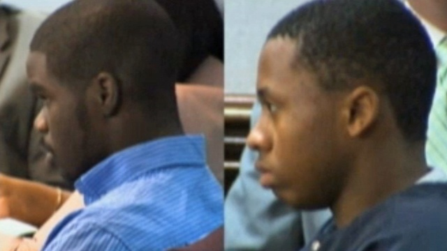 De'Marquise Elkins and Dominque Lang in court