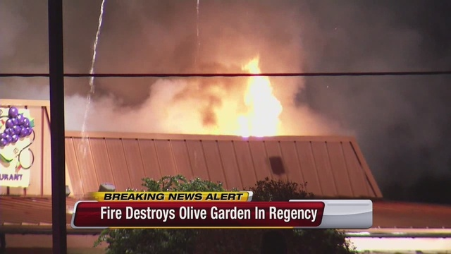 fire destroys olive garden on atlantic boulevard - Olive Garden Indianapolis