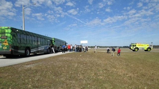 Gainesville Regional Airport evacuated