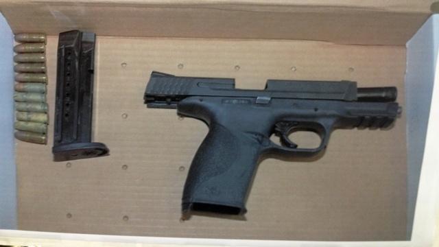 Gun in police-involved shooting