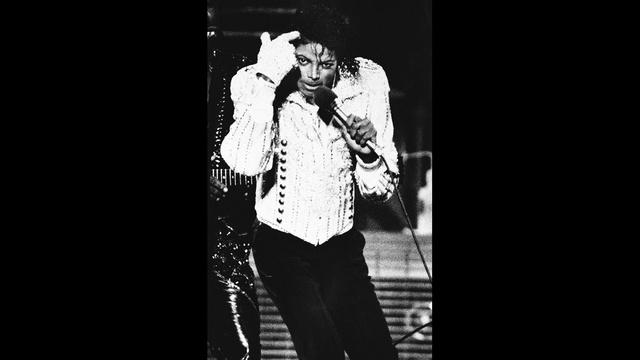 Michael Jackson peforms at Gator Bowl