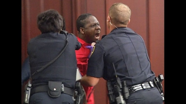 Rakeem Mitchner removed from courtroom