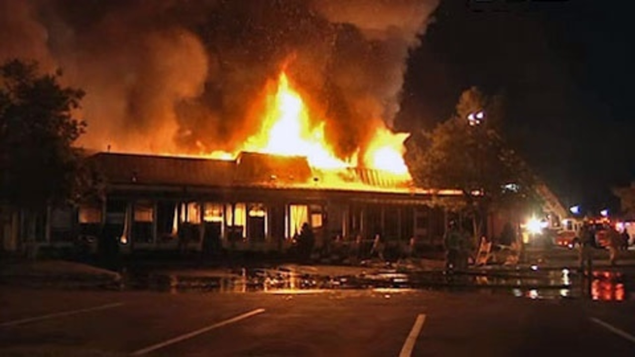 Plans in works to rebuild burned down Olive Garden