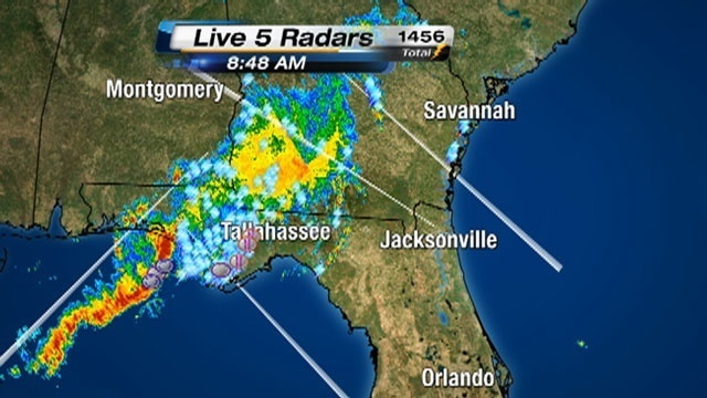 Panhandle rainfall-radar