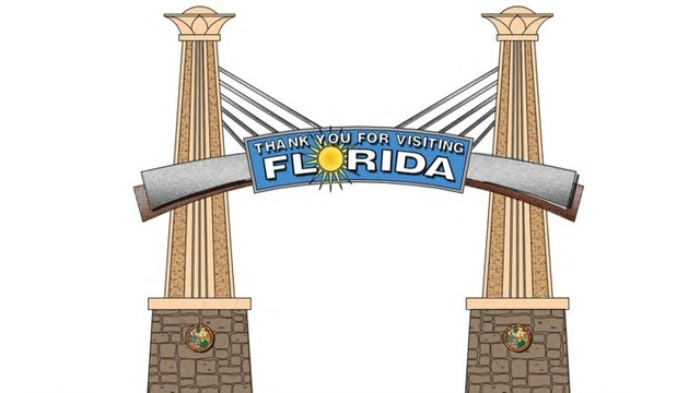 Proposed welcome to Florida sign_23965550