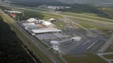 Airplane crash-lands in marsh near NE Florida Regional Airport
