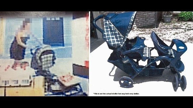 Stroller sought in Cherish investigation