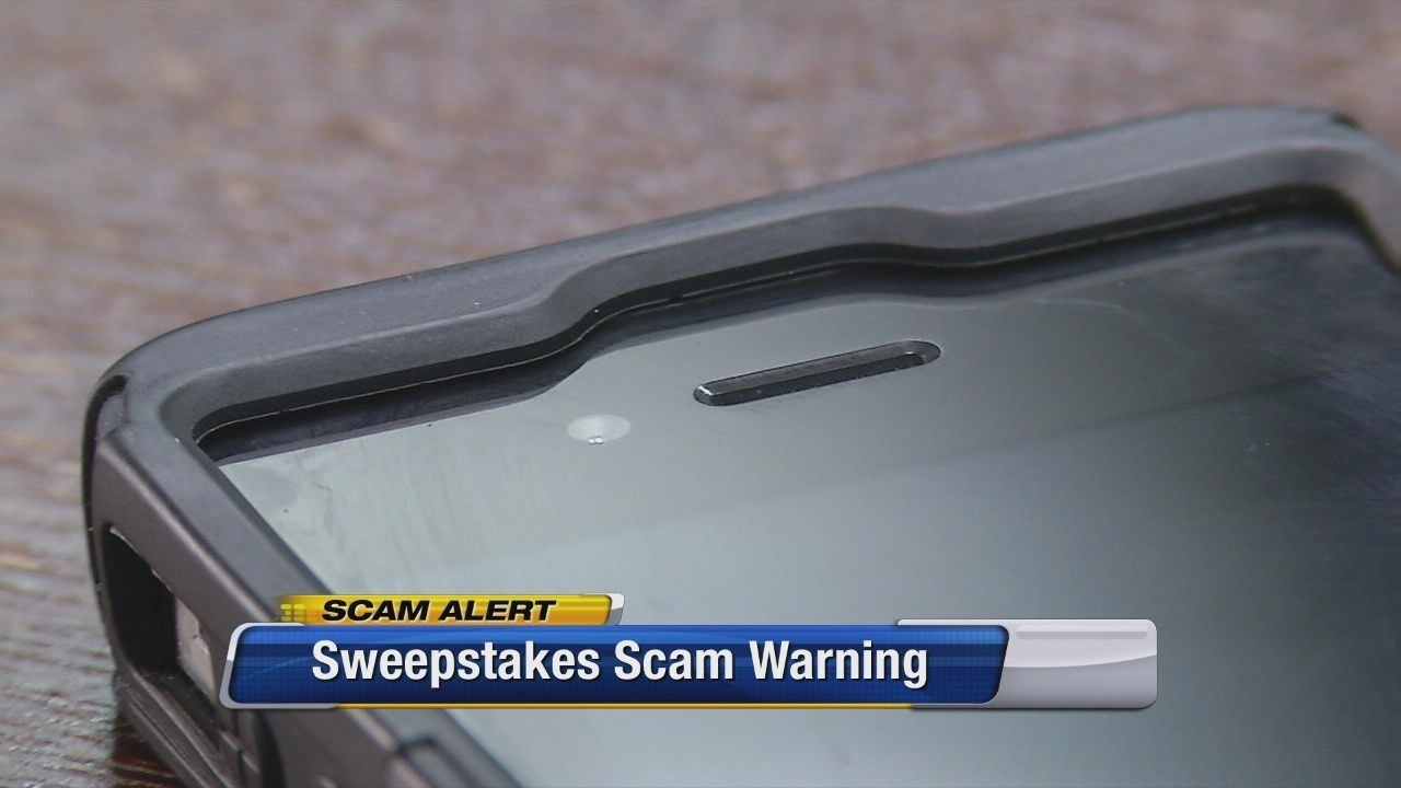Man warns others of sweepstakes scam voicemail