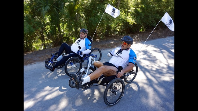 Wounded Warrior Project bike ride