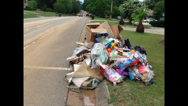 IMAGES: Pensacola storm damage