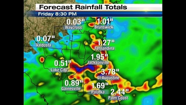 Next two days rainfall forecast_27467314