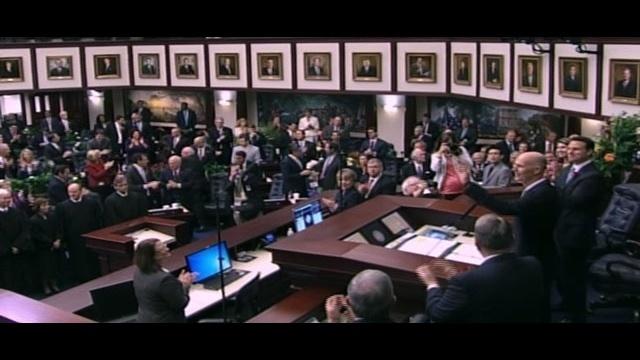 Gov. Rick Scott addresses joint session