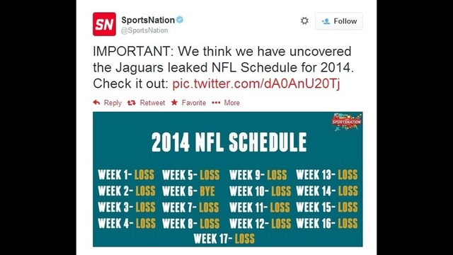 SportsNation tweet