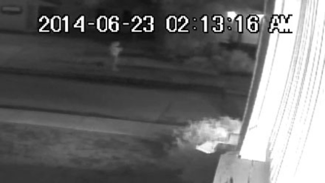 Fire investigators release surveillance video of person of interest