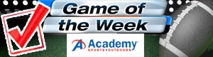 Academy Sports Game of the Week