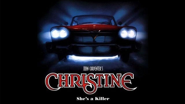 Christine movie poster car