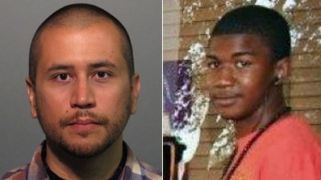 George Zimmerman and Trayvon Martin_10640060