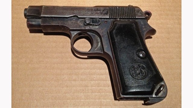 Gun in police shooting