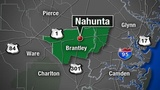 150-acre wildfire burns 3 homes in Brantley County