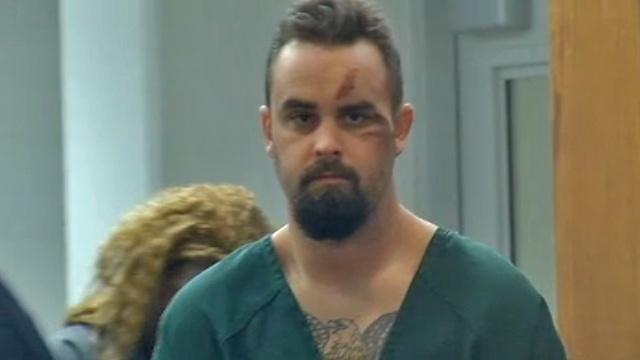 Matthew Hinson in court