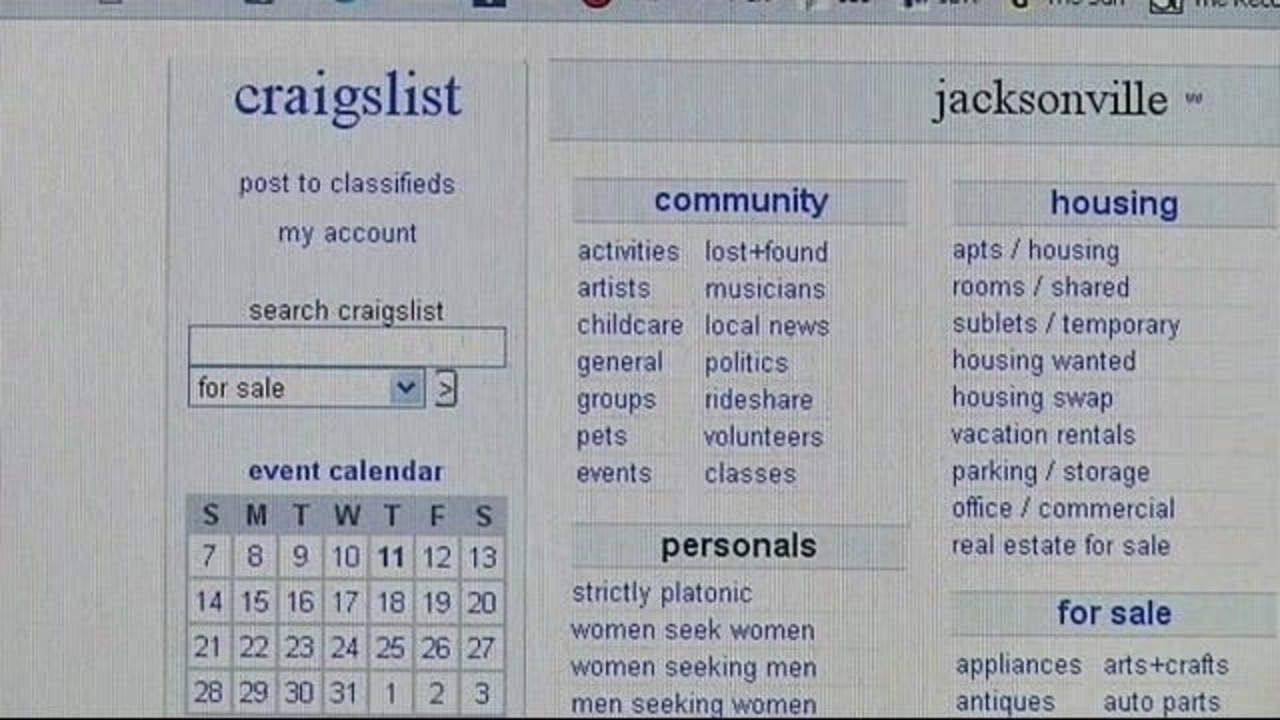 Police Robbers Strike Craigslist Users