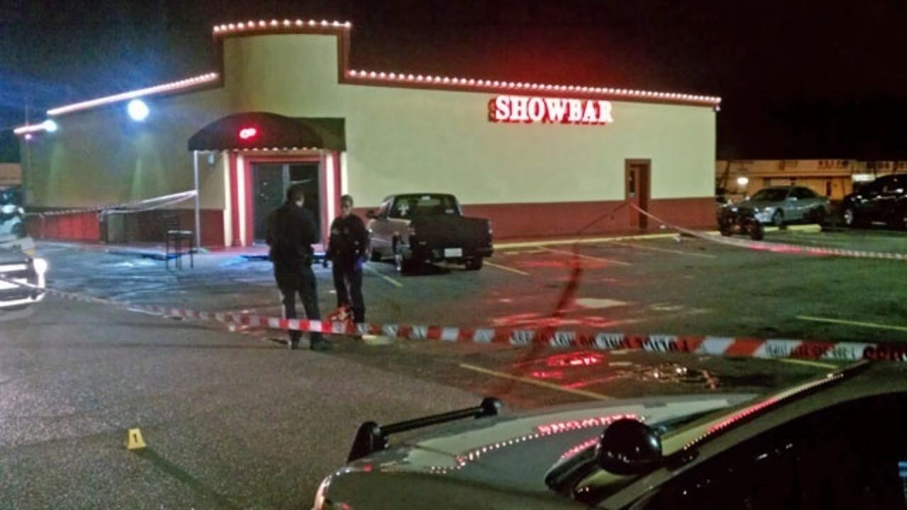 Witness 1 Shot Outside Southside Strip Club
