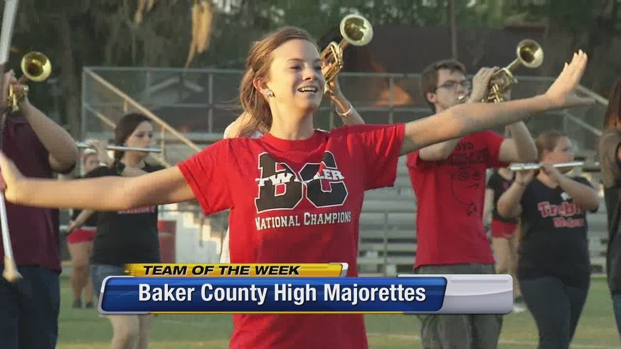 Team Of The Week Baker County High Majorettes