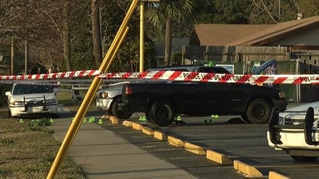 Townsend @ Sandhurst crime scene