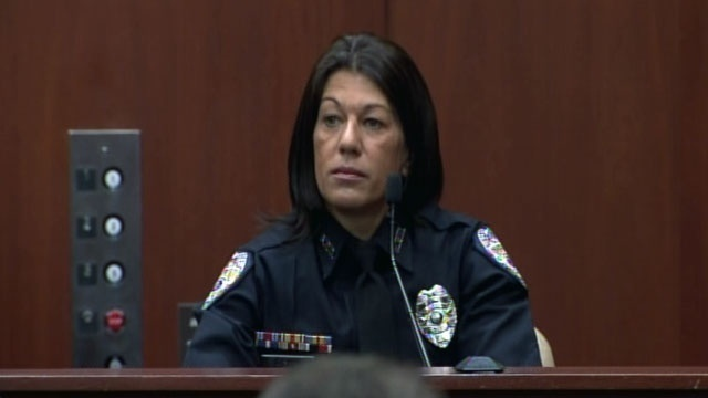 Sanford Police Officer Doris Singleton testifies in the George Zimmerman trial